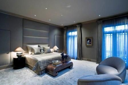 This lovely apartment, dubbed Chesham Place, is located in the Belgravia section of London, United Kingdom. It consists of two flats that total approximately 5,204 square feet of living space. It is l