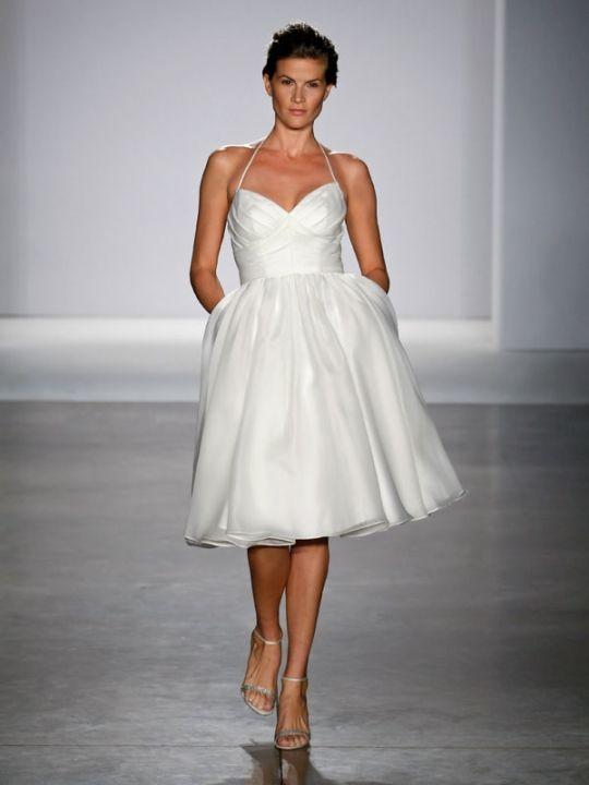 10 best Short Wedding Dresses images on Pinterest   Wedding frocks ...