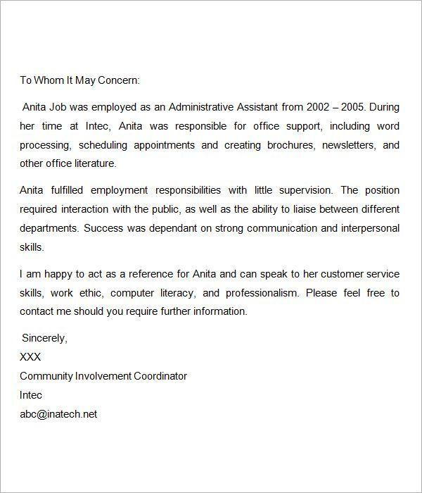Recommendation Letter For Nurses Https Nationalgriefawarenessday Com 5123 Letter Of Int Letter Of Recommendation Reference Letter Employment Reference Letter
