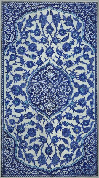 Tile      Place of origin:      Iznik, Turkey (made)     Date:      17th century (made)
