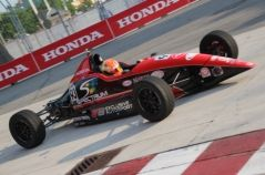 Tristan DeGrand On Point for Race 1 at Honda Indy Toronto