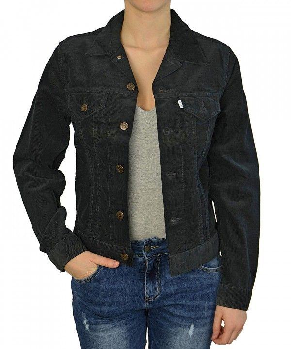 Levis μαύρο κοτλέ σακάκι 70590.69.59 #γυναικειαμπουφαν #womensfashion #fashion #γυναικα