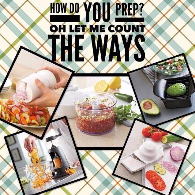 Food prep can be so time consuming... when you don't have Pampered Chef in the kitchen. What is your favourite Pampered Chef prep tool?