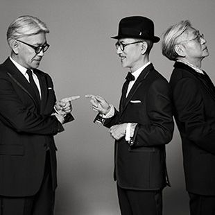 YMO GQ MEN OF THE DECADE:YMO