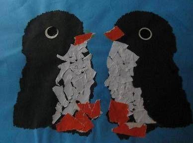 Pinguins knutselen. Pinguin knutselwerkjes.