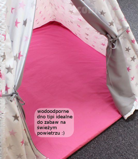 Tipi / namiot dla dziecka (zobacz jak uszyć i przygotować wykrój)