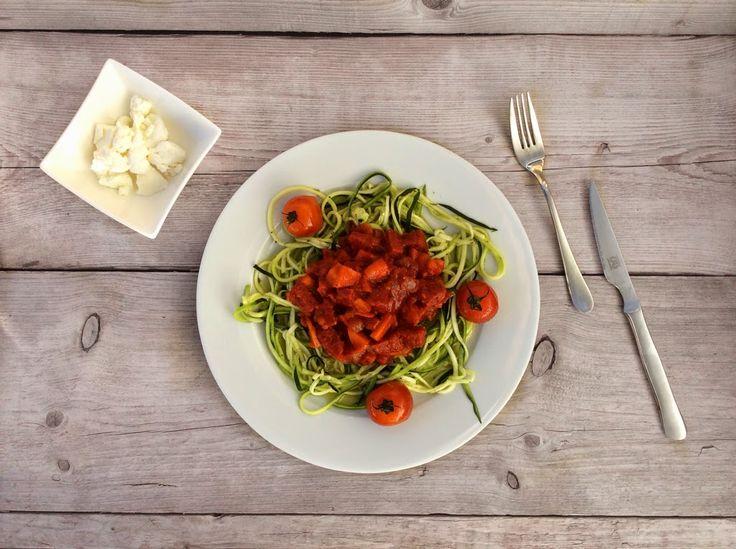 Persoonlijk vind ik courgette een perfecte spaghetti vervanger. Als je echt even geen spaghetti wil of kan eten dan. Met een spirelli heb je...