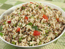 Popeye's Cajun Rice, came in direct response, to many people's requests. You can make Popeye's Cajun Rice with this recipe.