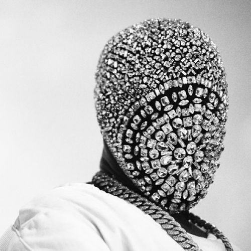 Kanye West's Diamond Maison Martin Margiela Mask