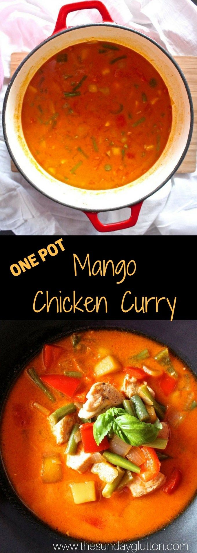 Mango Chicken Curry is a hearty blend of chicken, vegetables, and a creamy, curry base. With a touch of sweetness from ripe mangoes, this curry is super flavorful, but mild enough for the little ones. It comes together super quick and only requires one pot!