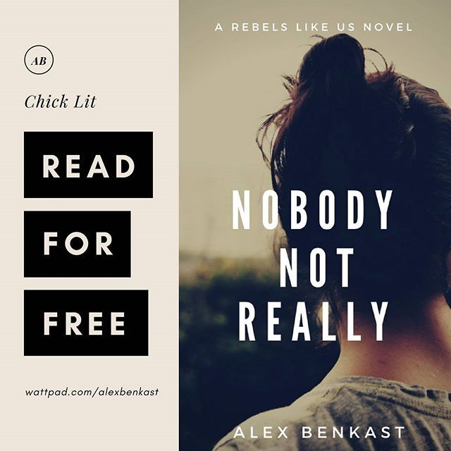 Just published one of my full-length #romance novels on #wattpad so anyone who's interested can read it for #free 👉wattpad.com/alexbenkast. It's named after the @aliciakeys song #NobodyNotReally which fits the story perfectly. :)  *  The first thing Jaya ever learned from life: work hard and never get attached to someone else. So what's a woman to do when she ends up living next door to a sexy underwear model who sticks to her like gum on a shoe?