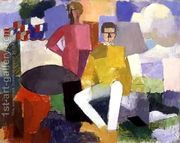 The Fourteenth of July  by Roger de La Fresnaye