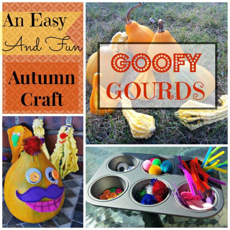Goofy Gourds Fall Craft and Other Fun Fall Activities For Kids! - BLOG HOP