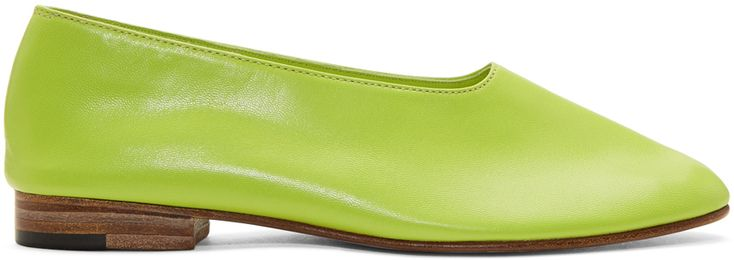Martiniano Green Glove Slippers