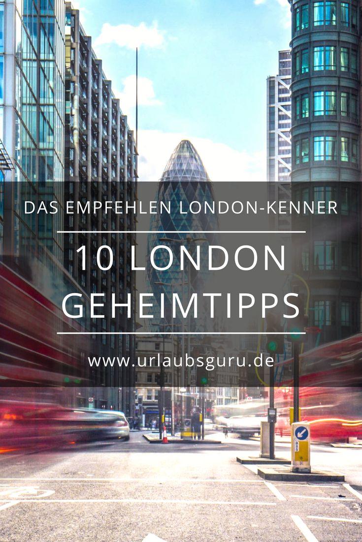 Die 10 besten London Geheimtipps