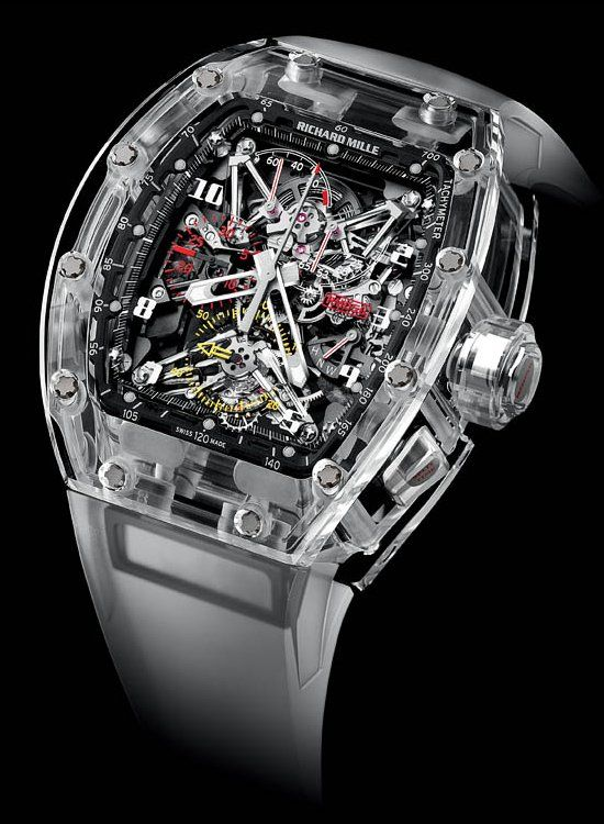Richard Mille Felipe Massa Sapphire One of the World Most Expensive Watches