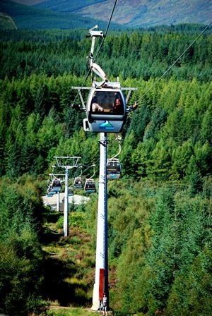 Nevis Range Gondola - Ben Nevis Highlands Scotland