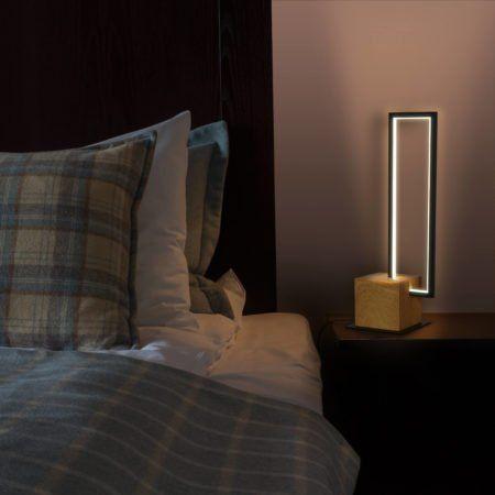 Modern Bedside Lamp is Stunning!