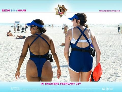 Reno 911, i cry!!! Look at these bathingsuits- PLEASE!