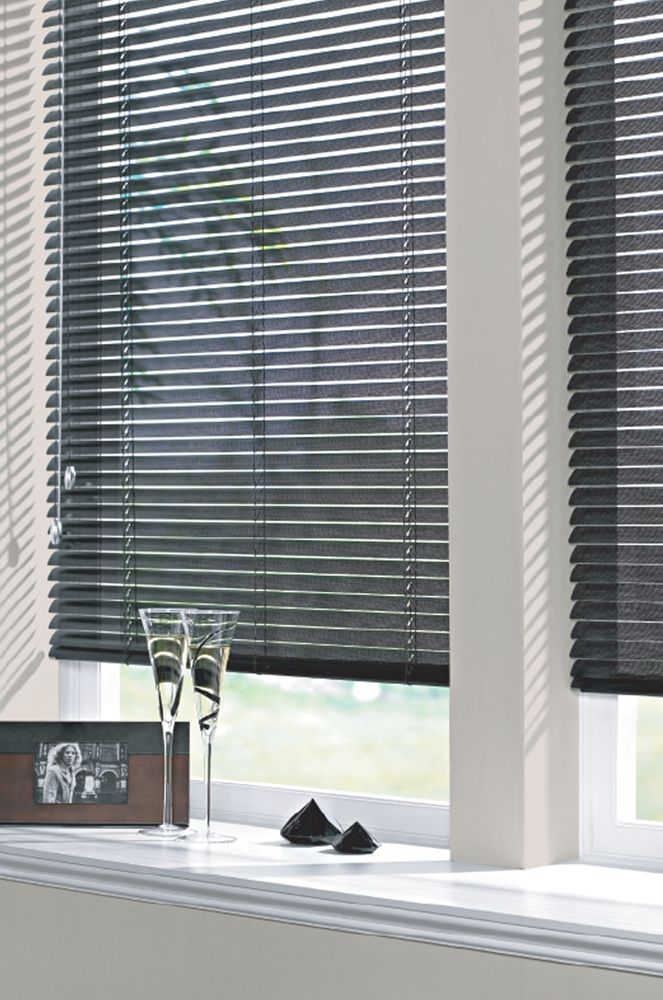 Aluminium Venetian Blinds | illumin8 Blinds & Curtains | Here in Black colour