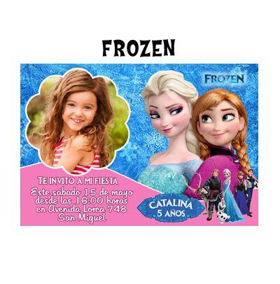 invitaciòn frozen
