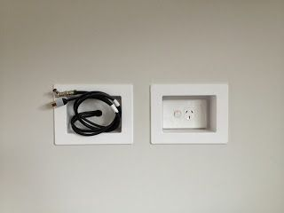 Recessed Power Point For Tvs Home Remodel Pinterest