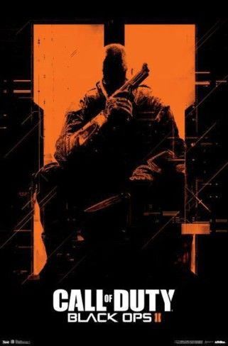 Call of Duty: Black Ops 2 - Orange Prints from AllPosters.com
