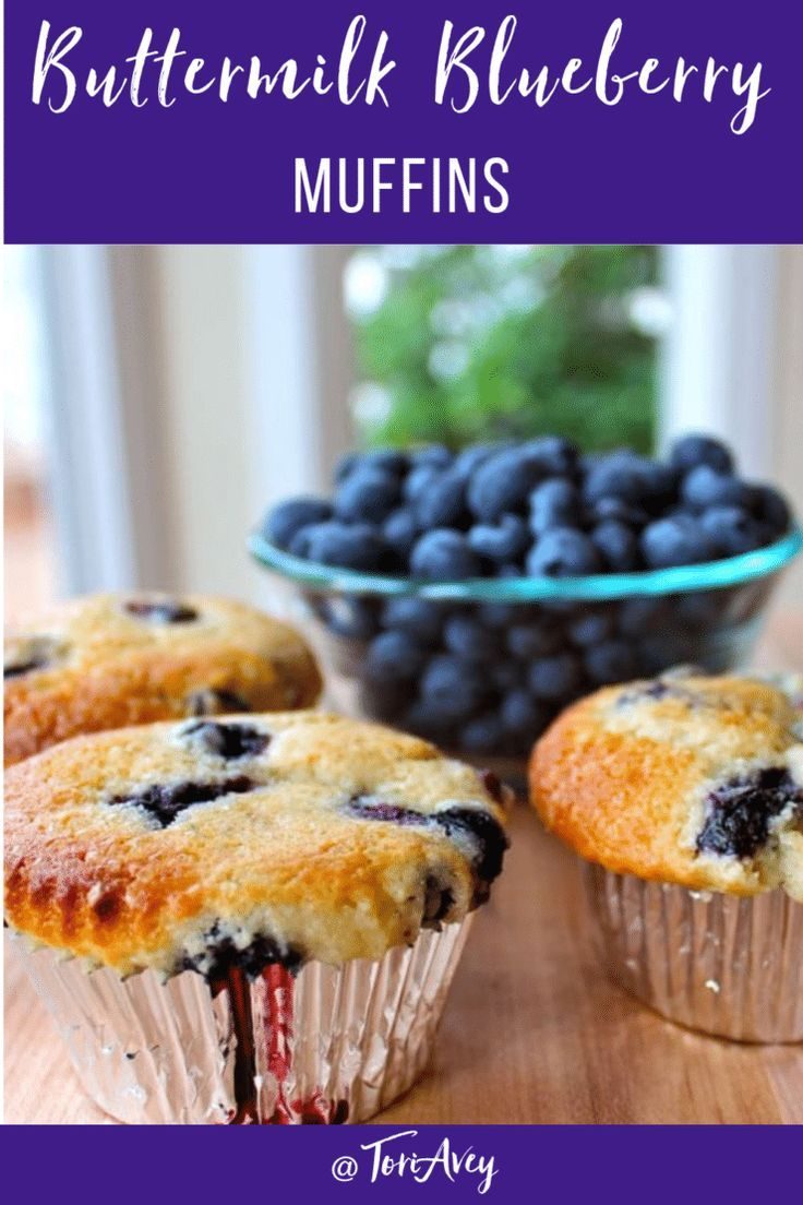 Buttermilk Blueberry Muffins Deliciously Fluffy Muffins Made With Buttermilk Blueberries Dairy Free Blueberry Muffins Blue Berry Muffins Yummy Food Dessert