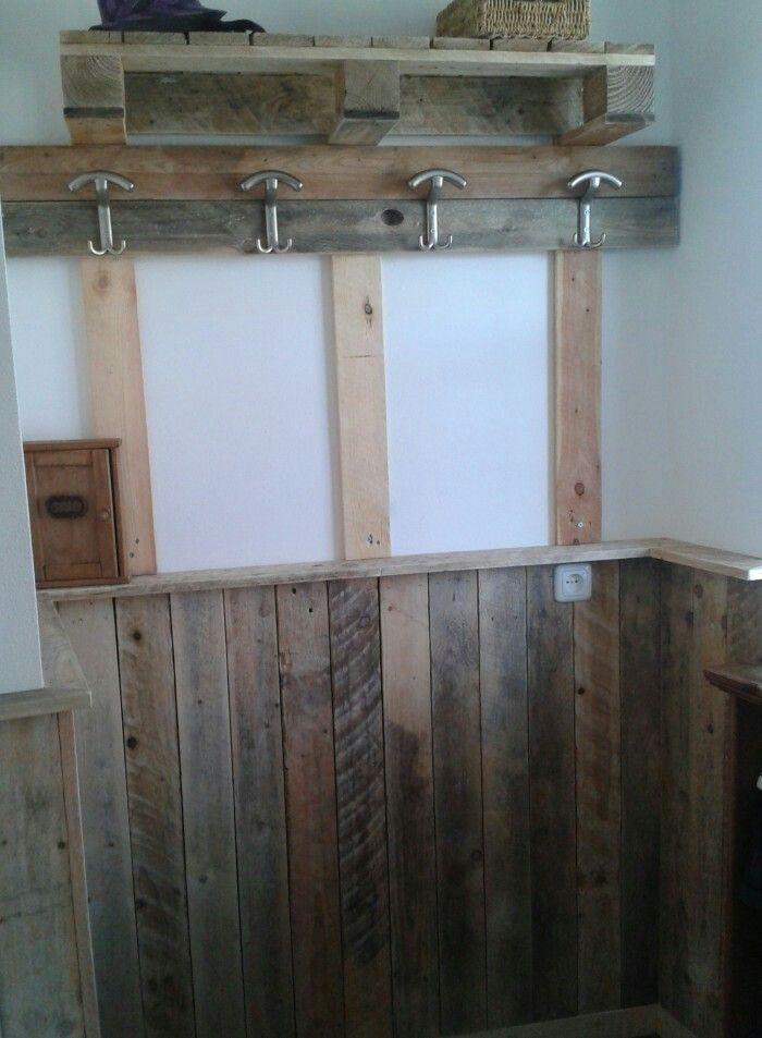 25 beste idee n over lambrisering wanden op pinterest - Deco houten trap ...