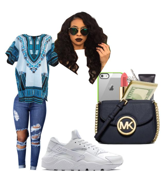 """""""You know I'm about you baby 💙🔐"""" by ohthatsmani ❤ liked on Polyvore featuring NIKE"""