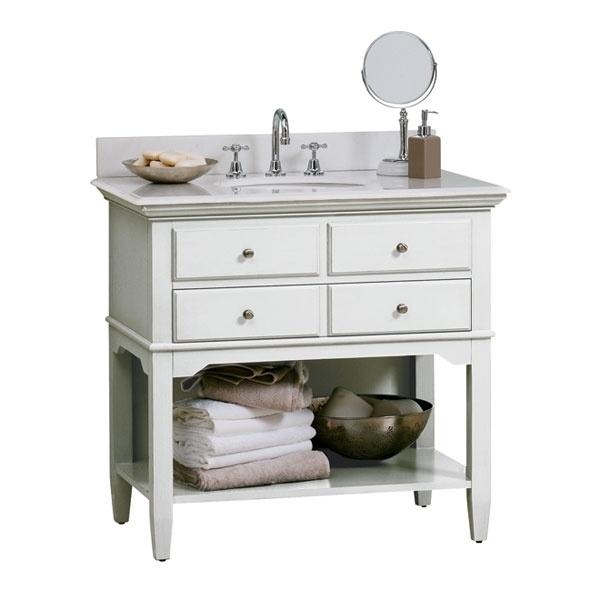 Vanities bathroom cannes vanity package cannes comp for Bathroom vanity packages