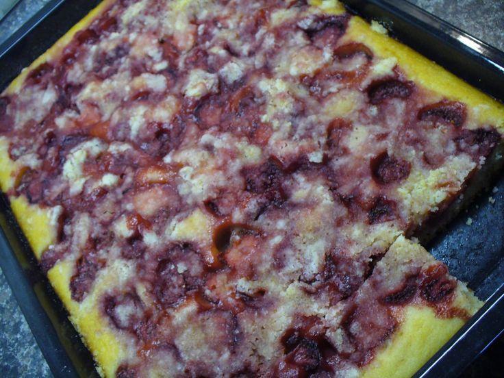 Jak upéct jahodový koláč z podmáslí | recept