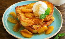 Karamelize Elmalı Fransız Tostu Tarifi