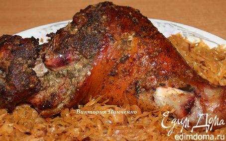 Запеченная свиная рулька | Кулинарные рецепты от «Едим дома!»