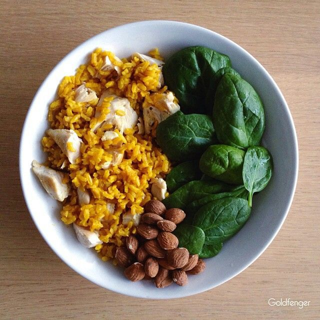 CURRY BROWN RICE WITH CHICKPEA AND ALMOND