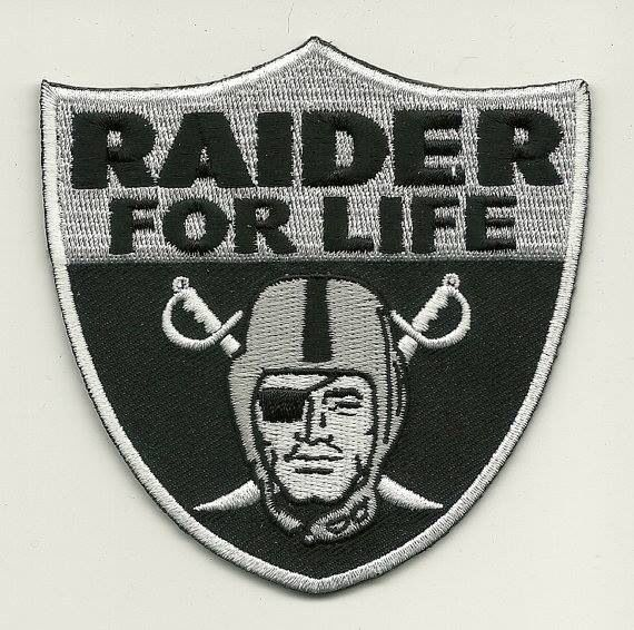 Raiders Patch