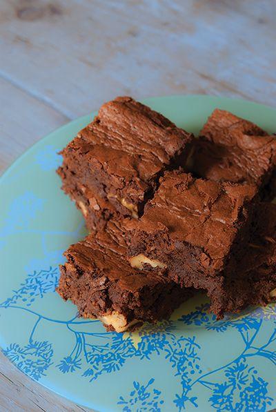 Summer #brownies without butter. Au #chocolat, avec des #courgettes à la place du beurre ! encore une super recette de Cléa Cuisine.