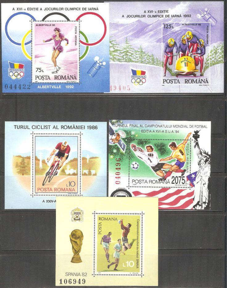 MNH Stamps Blok  Romania 10 items (C**2**)