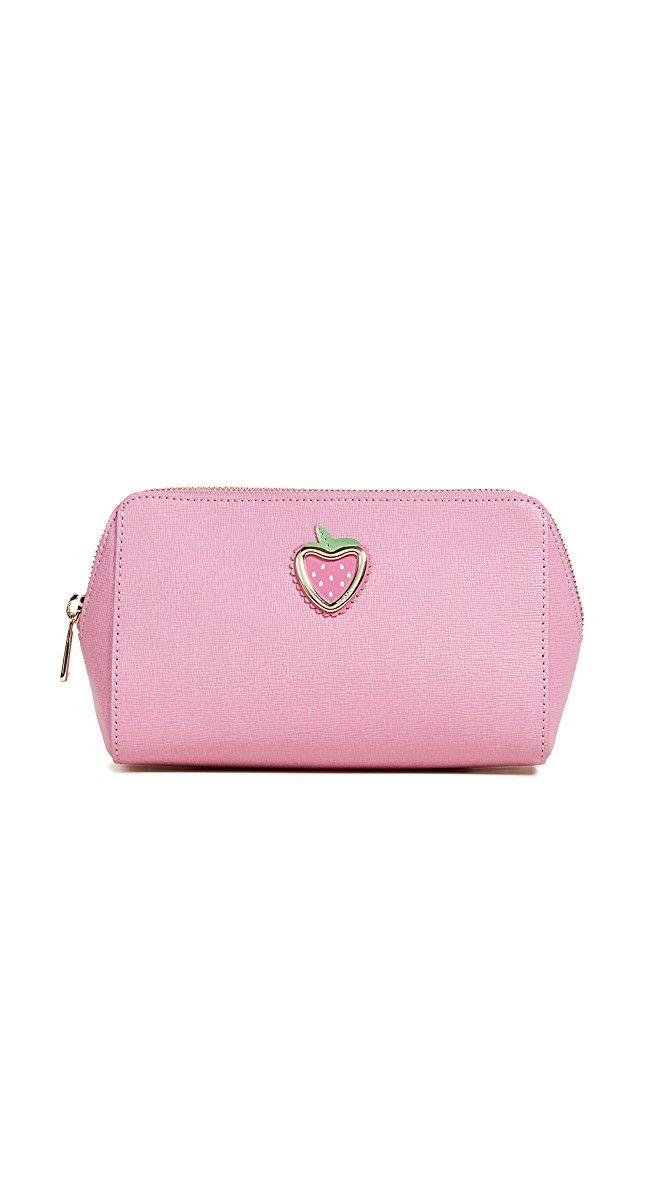 Furla Primizia Large Strawberry Cosmetic Case | SHOPBOP