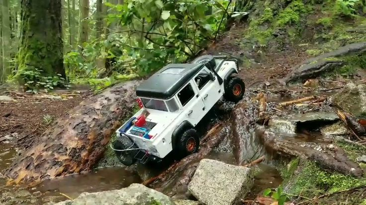 Rc4wd D110 Pick-up Scale Run.