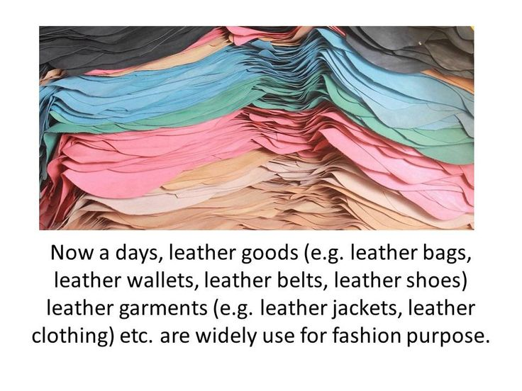 Genuine Leather Suppliers
