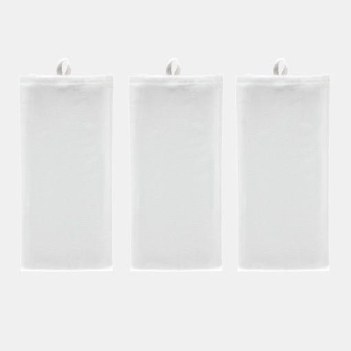 Kjøkkenhåndklær hvite 50x70cm 3stk
