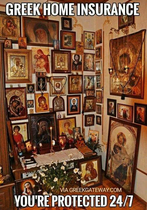 Orthodox Christian home insurance;-)