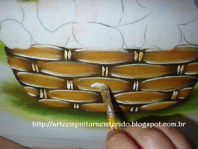 pintura em tecido passo a passo                                                                                                                                                      Mais