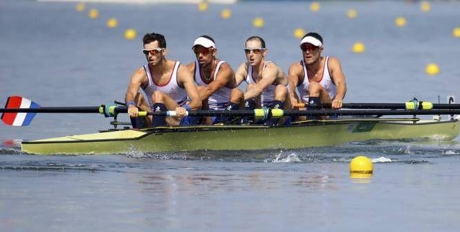 JO -                                                                     Aviron (Hommes) -                               Jeux Olympiques : du bronze pour le quatre sans barreur (PL)