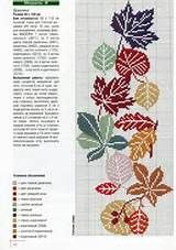Cross- Stitch ( Fall) on Pinterest
