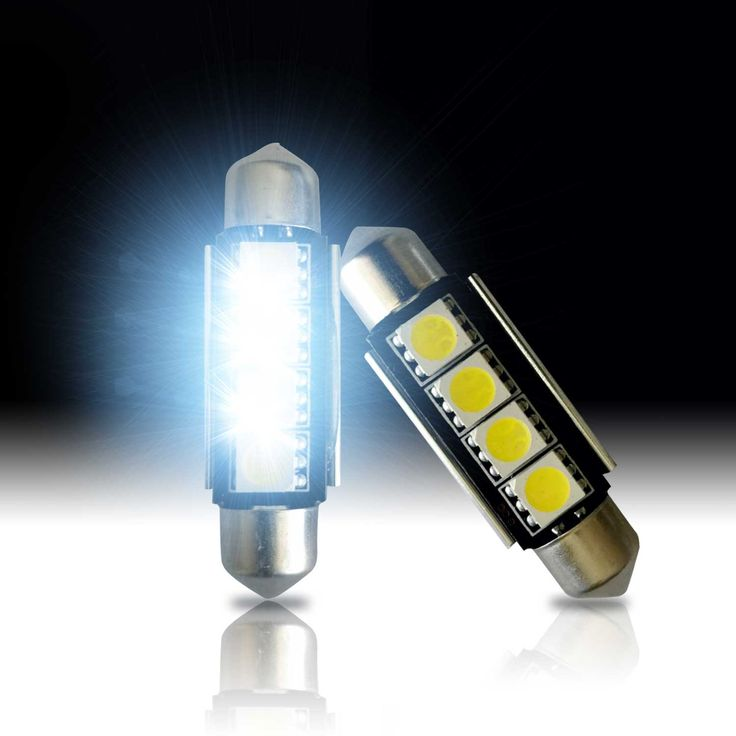42mm LED Festoon Bulbs - CANBUS  - Super White - 578 212
