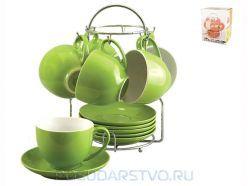 Набор кружек Коралл TS012-GR ― купить в Посударство.ру