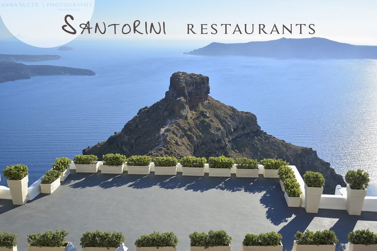 Best Santorini restaurants with view and excellent food. Find out about restaurants with view of the Caldera, volcano and great Mediterranean cuisine. Santorini roof gardens ideal for having romant...
