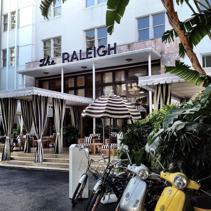 via BKLYN contessa :: miami beach :: the raleigh hotel .